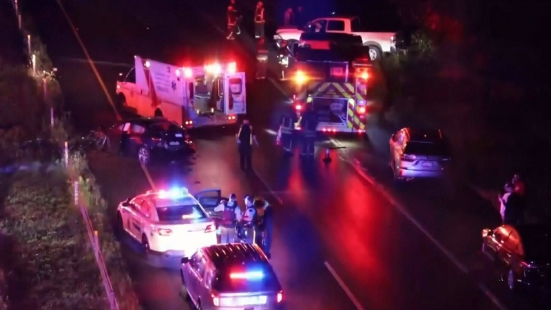 Wrong way driver involved in major crash