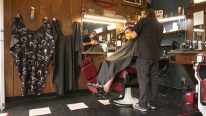 Barber facing threats intended for different shop