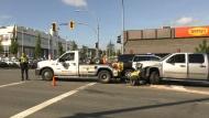 3 injured in head-on crash in Victoria