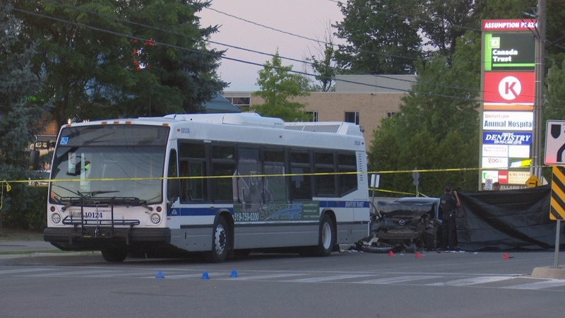 Two people were pronounced dead after a crash in Brantford on Aug. 7, 2020