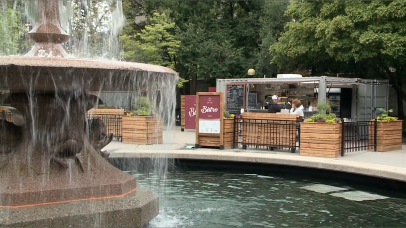 The NCC Bistro in Confederation Park, Aug. 8, 2019.