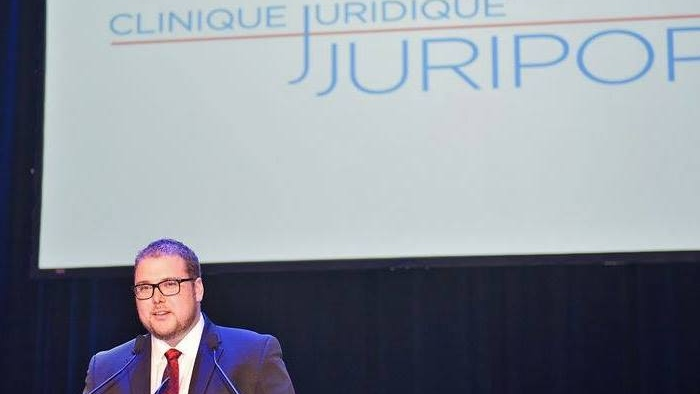 Marc-Antoine Cloutier has stepped down as chairperson of the Juripop board of directors after sexual misconduct allegations arose. He denies the allegations. SOURCE Facebook/Marc-Antoine Cloutier