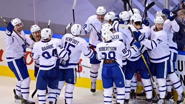 Matthews has OT winner as Leafs rally from 3-goal deficit to beat Blue Jackets