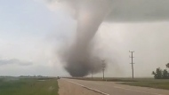 Tornado touches down in Manitoba