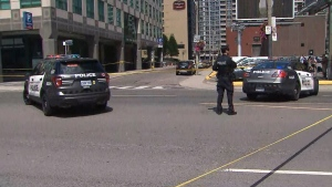 Brazen daylight shooting in downtown Toronto