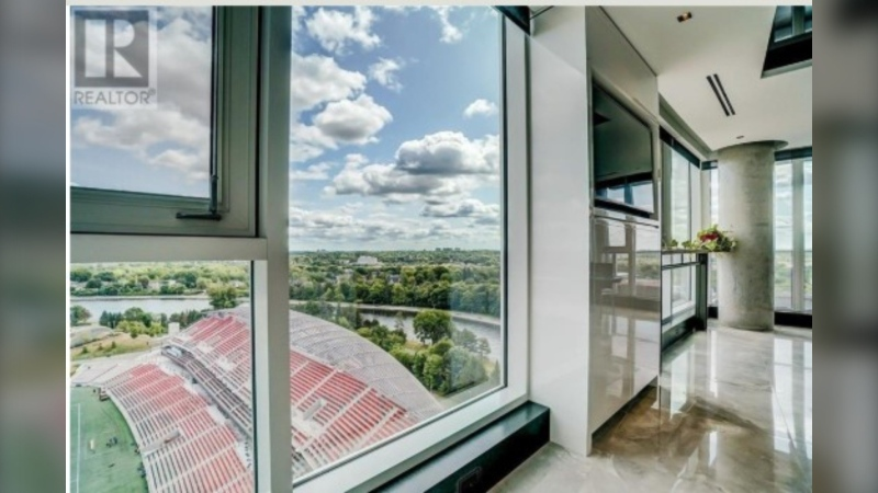 This condo at 1035 Bank St. is on the market for $2,975,000. (Photo courtesy: Realtor.ca)