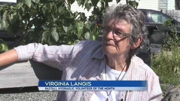 The winner of Rastall Hydraulic's Community Volunteer of the Month for July, Virginia Langis, talks about her work in the community.