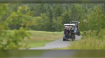 According to the homeowners, when they approached the golf course owner about the dangerous issue, they were told it's their responsibility to walk onto the golf course when they're home and damages have occurred.