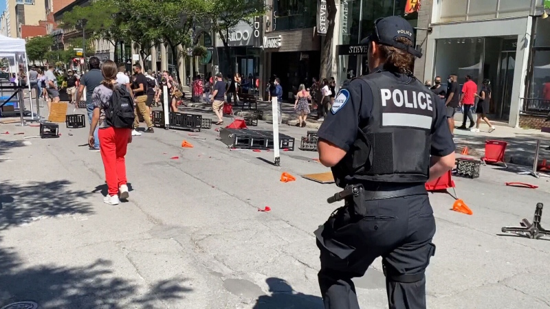 Two struck by truck in Montreal