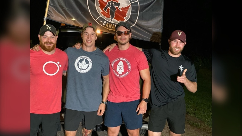 Canadian Armed Forces veteran Dylan Pace and his team are walking to Ottawa as part of the Walk For the Wounded.