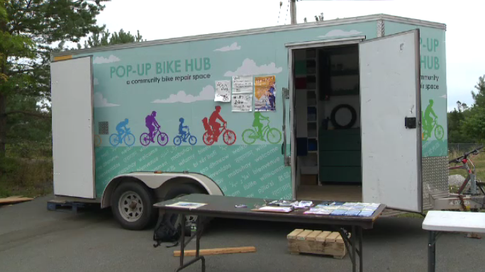Pop-up Bike Hub