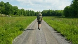 Hiking across Canada to inspire youth