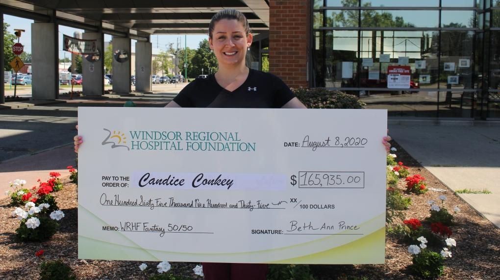 Candice Conkey wins $165,935