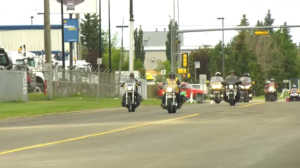 The first Rotary Ride for You Can Ride 2 kicked off in Spruce Grove on Saturday.