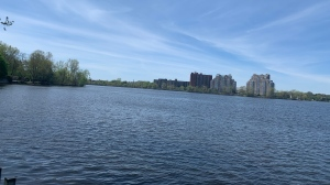 Police from Laval and Montreal are investigating separate crashes involving personal watercrafts Saturday night on the Riviere des Prairies between Montreal and Laval. (Daniel J. Rowe/CTV News)