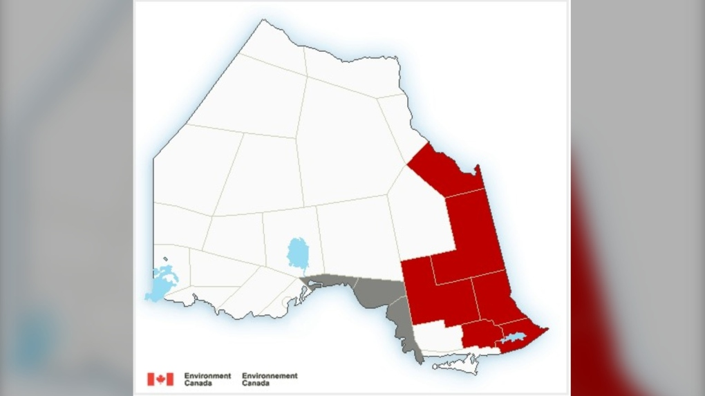 Environment Canada wesbite northeast