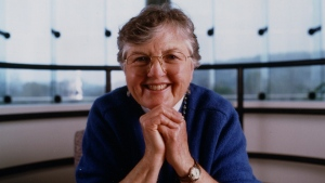Frances Allen, who spent her entire career at IBM, was the first woman to win a Turing Award, considered one of the most prestigious prizes in science. (IBM / CNN)