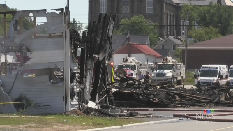 N.B.'s Vogue Theatre destroyed in fire