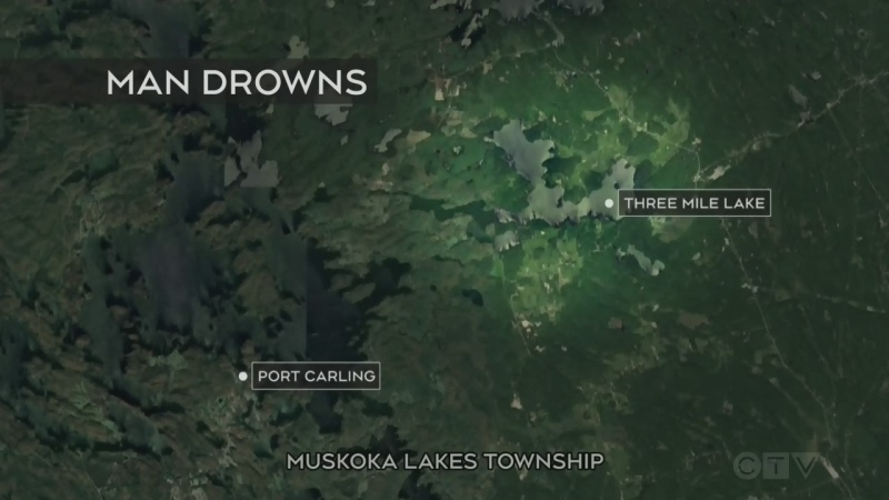 Man drowns in cottage country