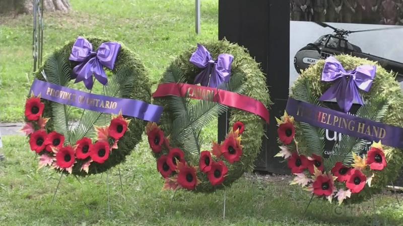 Honouring Canadian Peacekeepers