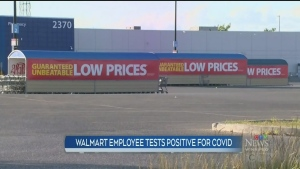 Winnipeg Walmart worker tests COVID-positive