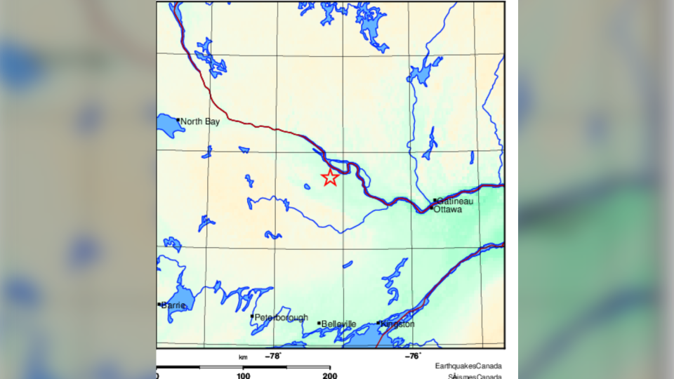 Earthquake in the Ottawa Valley