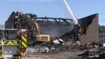 Miramichi's Vogue Theatre has been destroyed by fire.