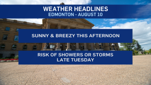 August 10 weather headlines