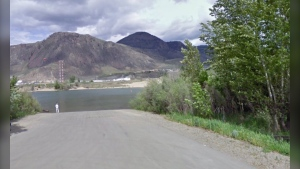 Pioneer boat launch in Kamloops, B.C. (Google Maps)