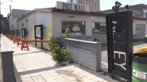 Paul Mall Alley in Sault Ste. Marie. (Christian D'Avino/CTV Northern Ontario)