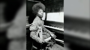 Singer Salome Bey, known as Canada's first lady of the blues, has died. She was 86. Bey is seen in an undated family handout photo. (THE CANADIAN PRESS)