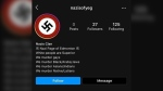 "Edmonton police say a student was behind a racist Instagram account called ""Nazis of YEG"" which targeted multiple cultural groups and published the home address of a peer. (Photo provided.)"