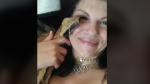 Chelsie Mcmunn was reunited with her six-foot blood python, Nexxus, after he went missing Aug. 5, 2020. (Facebook)