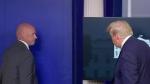 Secret Service pulls Trump from press briefing