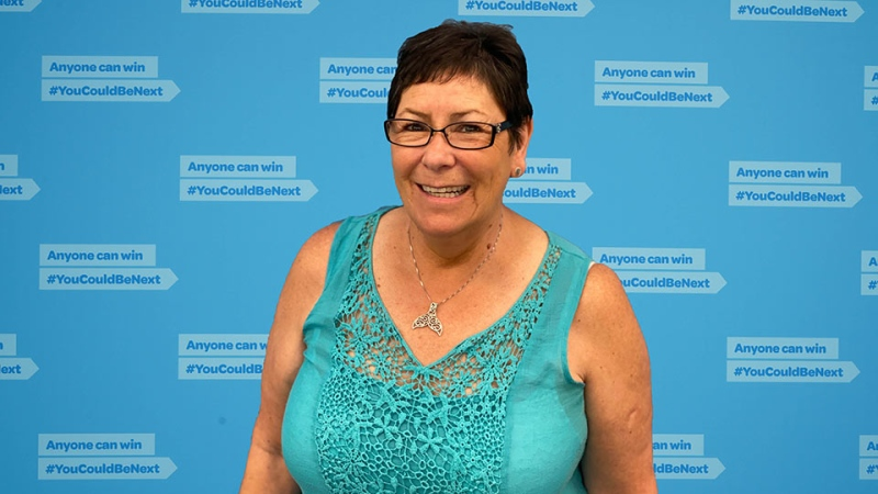 Nanaimo resident Debra Allen recently won $500,000 from a B.C. lottery draw: (B.C. Lottery Corporation)