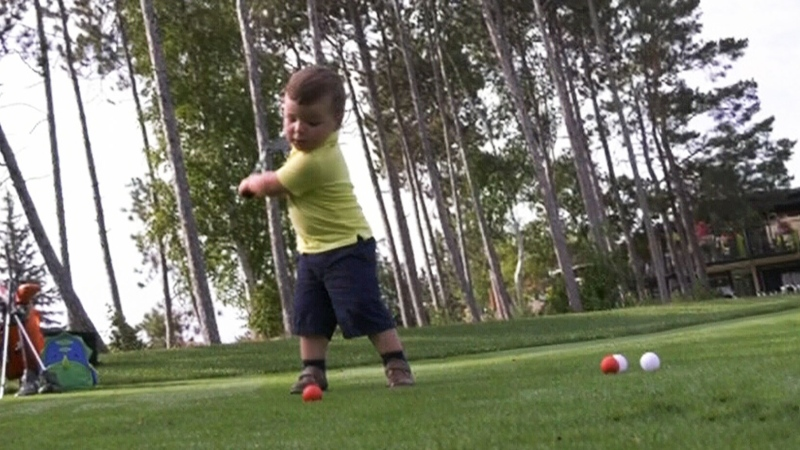 Boy golf