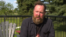 Guy Lavallee determined a fraudster used his information to claim two months' worth of CERB payments to their account. Aug. 10, 2020. (CTV News Edmonton)