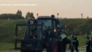 Farmer roughed up during arrest