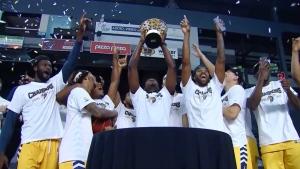 Edmonton Stingers win championship