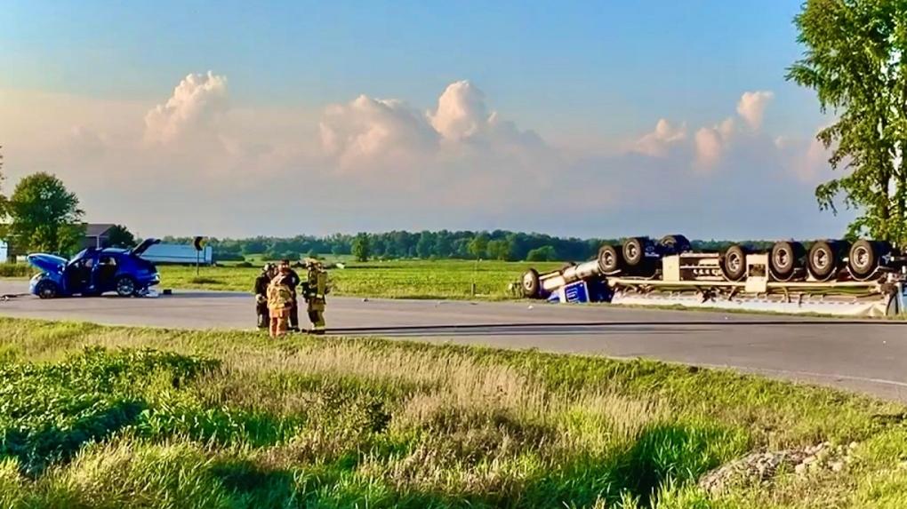 fatal crash in perth county