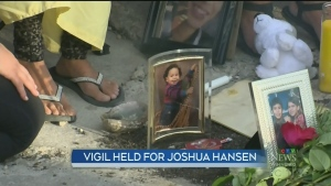 Vigil held for city's 27th homicide victim