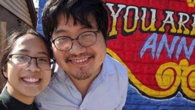 Dr. David Edward-Ooi Poon and Alexandria Aquino