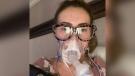Actress Alyssa Milano says she's suffering hair loss after battling COVID-19. (Alyssa Milano from Instagram)