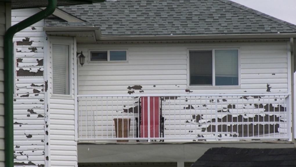 northeast, Calgary, hail, damage