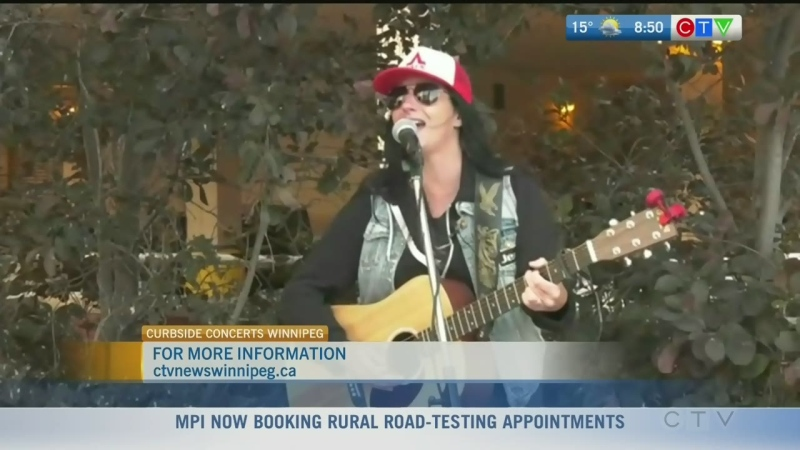 Curbside Concerts offers live music to Manitobans