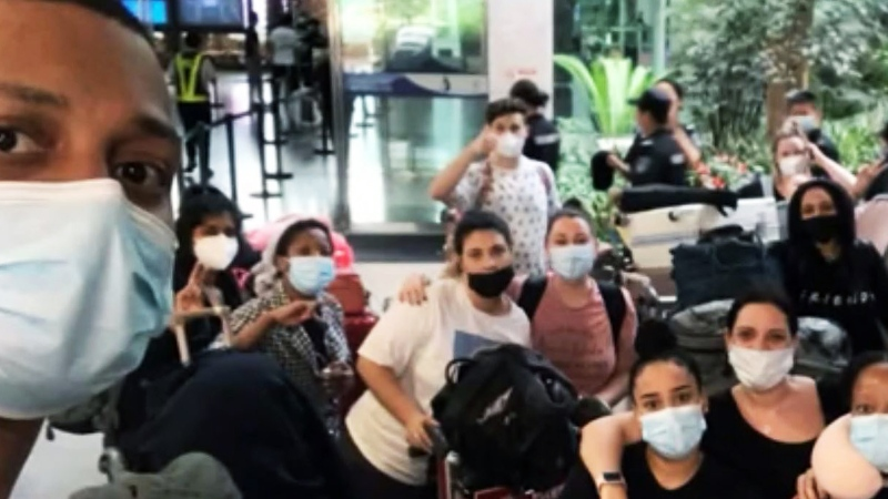 Using only his phone, a man in New Brunswick was able to secure a rescue flight for more than 100 Africans stuck in China amid the pandemic. (Carmen Johannie / CNN)