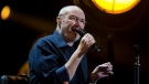 In this file photo, singer Phil Collins performs at Palacio de los Deportes in Mexico City, Friday, March 9, 2018. (AP Photo/Rebecca Blackwell)