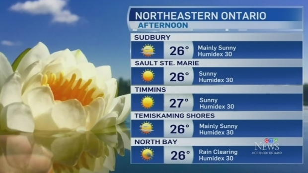 Weather warnings subside for heat and sunshine