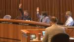 The first and second readings of a proposed temporary mandatory face coverings bylaw were passed by Lethbridge city council on Aug. 10