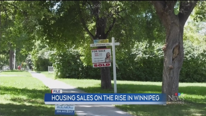 Real estate sales climbing in Winnipeg
